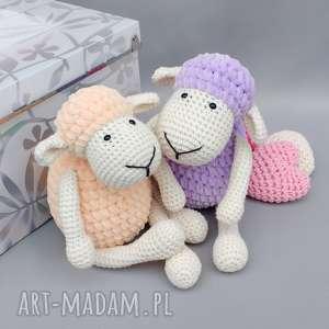 Owieczka Matylda, zabawka, przytulanka, miękka, dziecko, spanie, owca