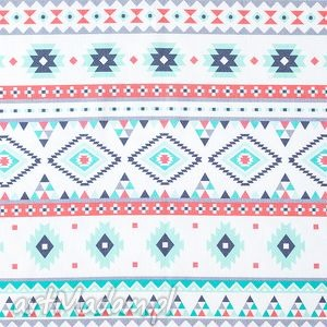 Bawełniana chustka na lato - Aztec,