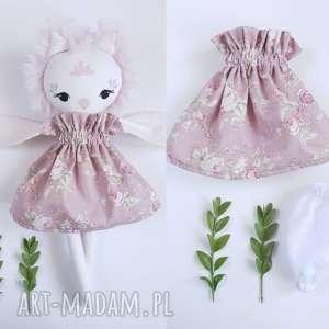 lalki lalka sowa mirelka, sowa, lalka, ubranka, eko, futerko, przytulanka