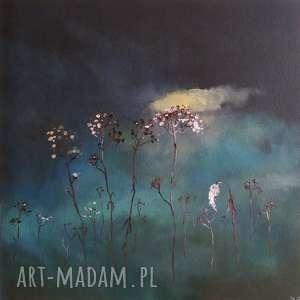 trawy-obraz akrylowy formatu 40/40 cm, trawy, akryl, obraz, płótno