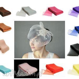 ozdoby do włosów model rosalia, fascynatr, niebieski, czerwony
