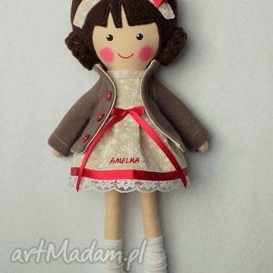 Prezent malowana lala lucynka, lalka, zabawka, przytulanka, prezent, niespodzianka