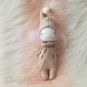 pokoik dziecka dekoracja tekstylna aniołek dzieciątko, anioł, unikat, bawełna, na