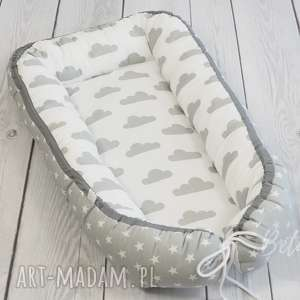 Kokon niemowlęcy OTULACZ chmurki - gwiazdki, kokon, niemowlaka, otulacz, wyprawka