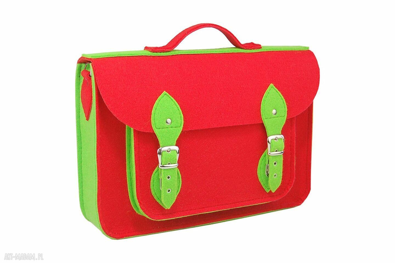 handmade na ramię plecak i torba na ramię w jednym.