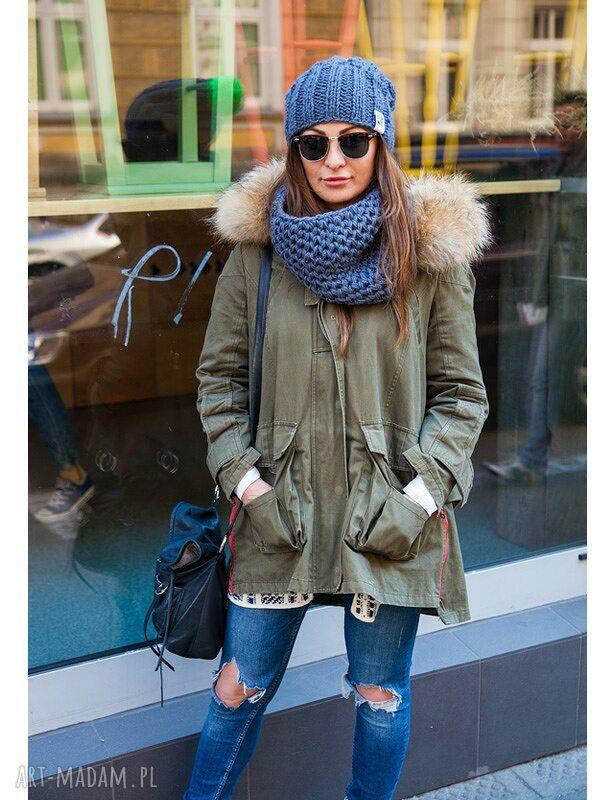 zielone czapki zima endorphine! stalowy rycerz