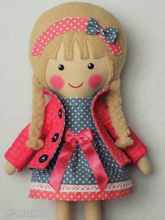 handmade lalki malowana lala julia