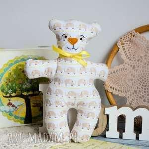 maskotki kochany mały miś - oskar 18 cm, miś, niemowlę, słonik, chrzciny