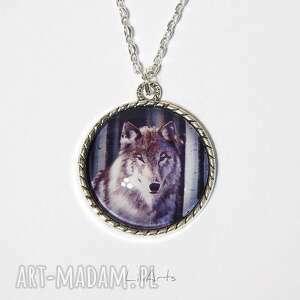 Medalion, naszyjnik - szary wilk naszyjniki liliarts naszyjnik