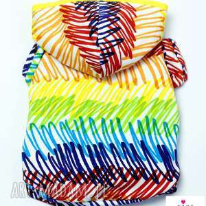Ubranko dla psa. Kolorowa bluza Bluza na wiosnę Teacup