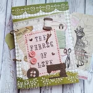 handmade scrapbooking notesy