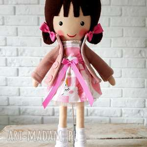 Prezent MALOWANA LALA SELENA , lalka, przytulanka, niespodzianka, zabawka,