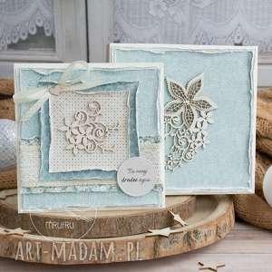 wyjątkowa warstwowa kartka ślubna w pięknym ozdobnym pudełeczku niezapomniana