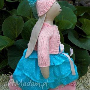 Króliczka Tulisia - ,króliczek,lalka,królik,miś,balerinki,szmacianka,