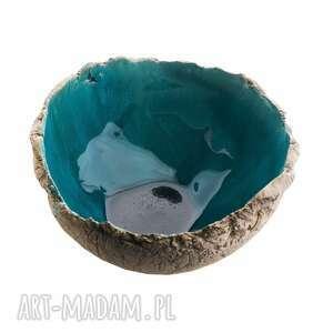 ręczne wykonanie ceramika miska ceramiczna