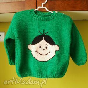 gaga art sweterek bolek, sweterek, rękodzieło, włóczka