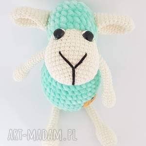 zabawki owieczka szydełkowa przytulanka, dziecko, owca, zabawka
