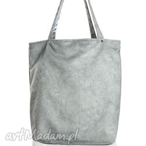 Opis Tote Bag Ash , torba, torebka, szara
