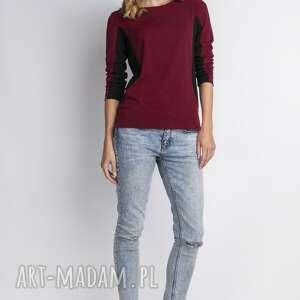 Bluzka, blu108 bordo bluzki lanti urban fashion shirt, bluza