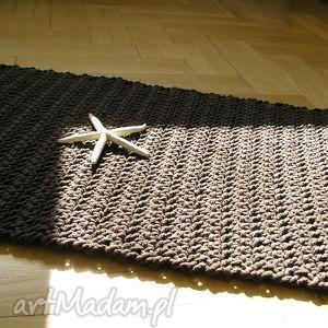 dywany chodnik czekolada - dywan, chodnik, sznurek, rug