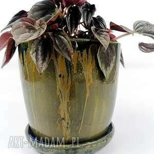 ceramika donica ceramiczna, donica, osłonka, doniczka, dekoracja, świąteczny