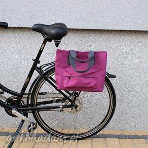 Prezent Torba rowerowa Romania fuksja, rower, torba, praca, zakupy, prezent