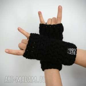 rękawiczki 01 - rękawiczki, rekawiczki, mitenki, mittens, bez palców, zima
