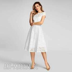 sukienki sukienka klara total midi leticia biel