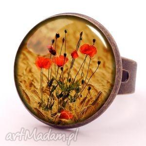 egginegg maki - pierścionek regulowany, prezent, kwiaty, polne
