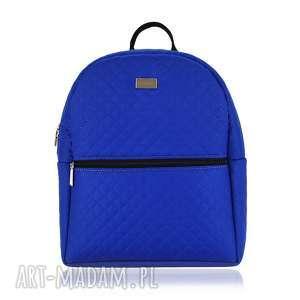 PLECAK DAMSKI 1014 CHABROWY , plecak, pikowany, lekki, pojemny