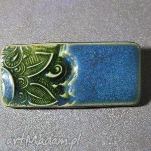 Ceramiczna Broszka., broszki, ceramiczne