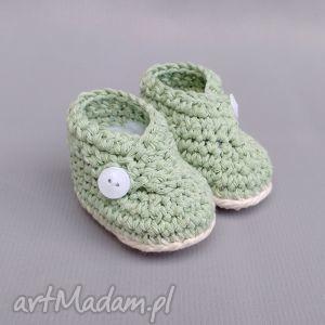 buciki newborn, bawełna, noworodek, dziecko, prezent, narodziny, delikatne buciki