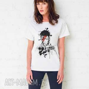bowie painted oversize t-shirt, ubrania