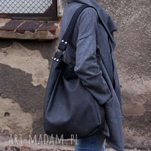 Iks worek vege grafit czerń na ramię manufakturamms grafit