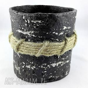 Pojemnik ceramiczny ceramika polepione ceramika, doniczka