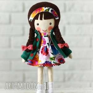 Prezent MALOWANA LALA MARYSIA, lalka, zabawka, przytulanka, niespodzianka,