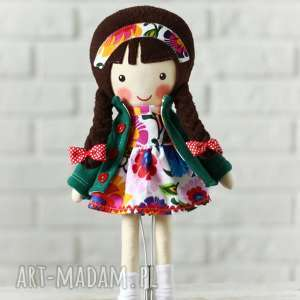 prezent na święta, malowana lala marysia, lalka, zabawka, przytulanka