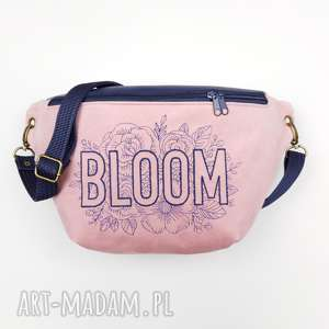 nerka xxl bloom - ,nerka,kwiaty,vintage,pastelowa,haft,torebka,