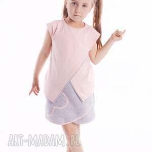Bluzka DB10R, modna, asymetryczna, stylowa, dziewczęca