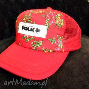folk design- czapka tirówka - czapka, tirówka, góralska, folk, design
