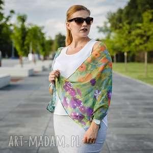 Prezent Szal Gustav Klimt, klimt, kwiaty, jedwab, szal, prezent, vintage