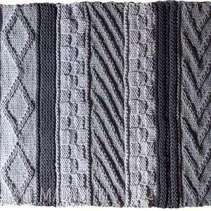 dywan dziergany folk-zamówienie, dywan, sznurkowy, rękodzieło, dziergany