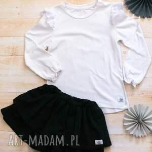 komplet bluzeczka i spódniczka 122-152, do szkoły, spódnica