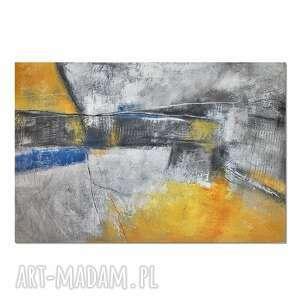 AleksandraB Tierra del Carbon, abstrakcja, nowoczesny obraz