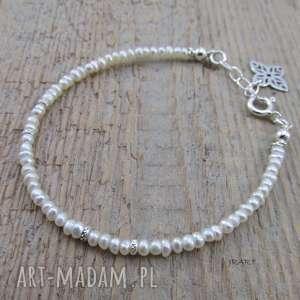 Delikatna z pereł - bransoletka ii irart perła,