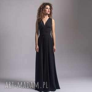 sukienki suknia z odkrytymi plecami, długa, maxi, wygodna, świąteczny prezent