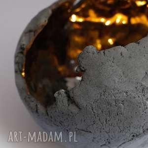 hand-made ceramika lampion ceramiczny ręcznie lepiony