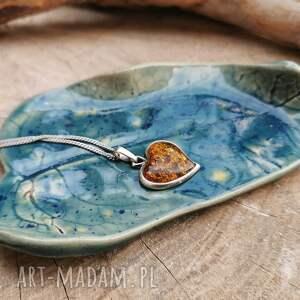 shiraja ceramiczny talerzyk liść c267, liść, podstawka, ceramiczna