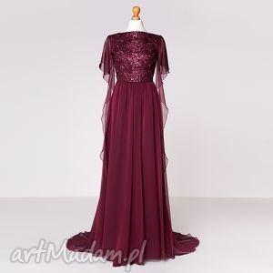 violetta - suknia , moda, koronka, szyfon, karnawał, sylwester, gala sukienki