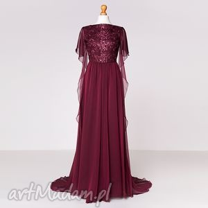 Violetta - suknia , moda, koronka, szyfon, karnawał, sylwester, gala